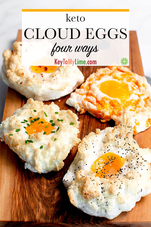Egg nests on a board.