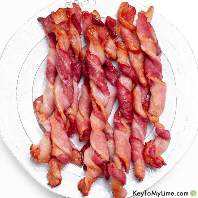 The best easy twisted bacon recipe.