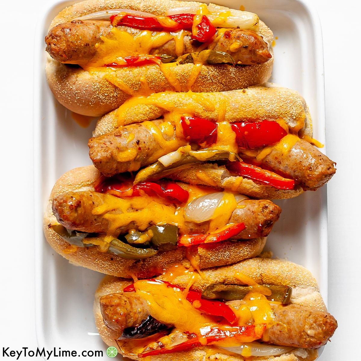 The best brats in oven recipe.
