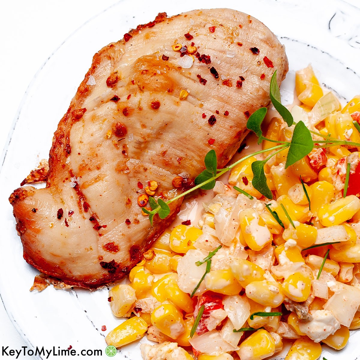 The best chili lime chicken recipe.