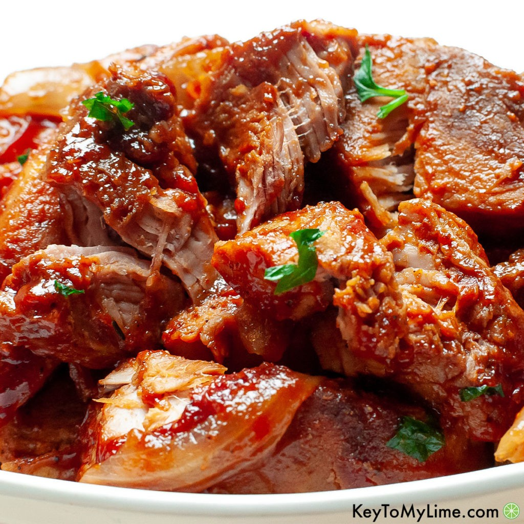 The best country style pork ribs in the slow cooker recipe.
